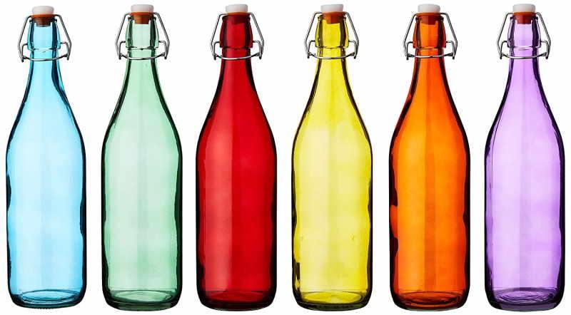 Bottiglie di Vetro con Tappo Colarate